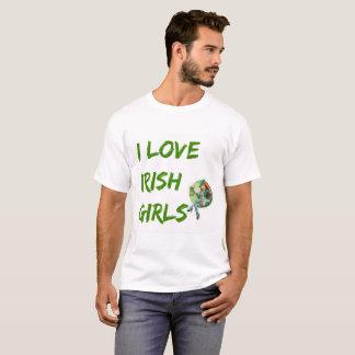 """Camiseta """"Eu amo t-shirt das meninas irlandesas"""" pelo"""