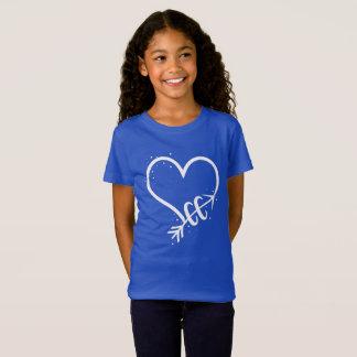 Camiseta Eu amo t-shirt Running do país transversal