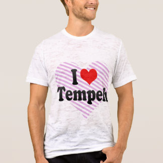 Camiseta Eu amo Tempeh