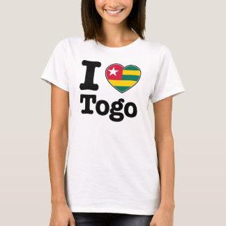 Camiseta Eu amo Togo