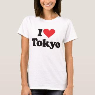 Camiseta Eu amo Tokyo