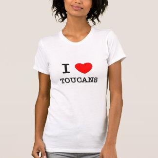 Camiseta Eu amo Toucans