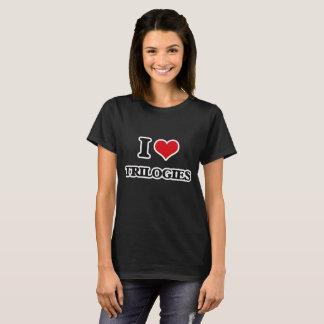 Camiseta Eu amo trilogia