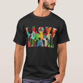 Camiseta Eu amo ursos gomosos