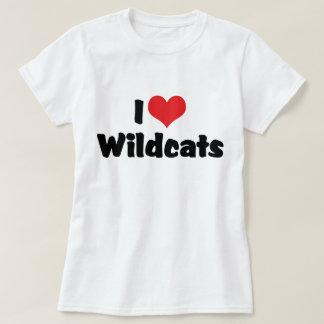 Camiseta Eu amo Wildcats do coração