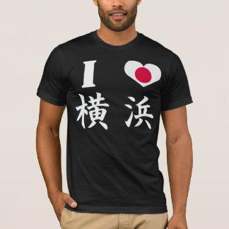 Camiseta Eu amo YOKOHAMA
