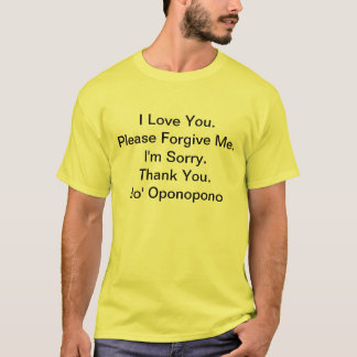 Camiseta Eu amo You.I sou Sorry.Please perdôo Me.Thank Yo…
