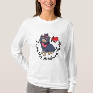 Camiseta Eu-Amor-Meu-Yorkshire-Terrier
