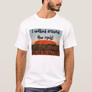 Camiseta Eu andei em torno da rocha! , ULURU AUST…