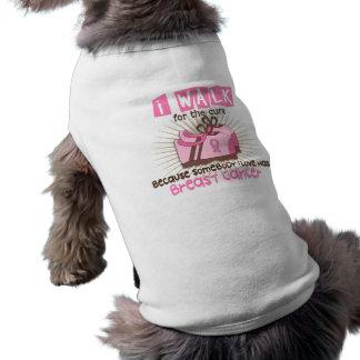 Camiseta Eu ando 1 cancro da mama