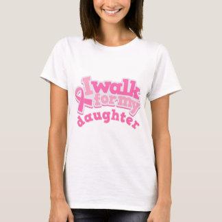 Camiseta Eu ando para minha filha