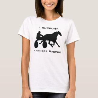 Camiseta Eu apoio a competência de chicote de fios!