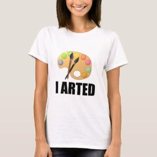 Camiseta Eu arted