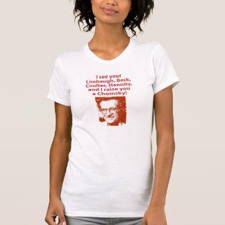 Camiseta Eu aumento-o um Chomsky