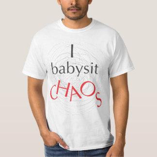 Camiseta Eu Babysit o caos