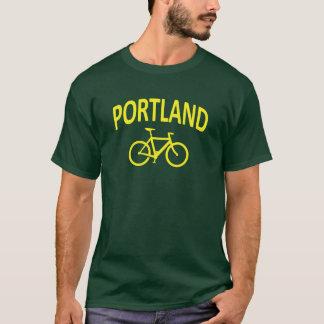 Camiseta Eu Bike PORTLAND - design da bicicleta do fixie