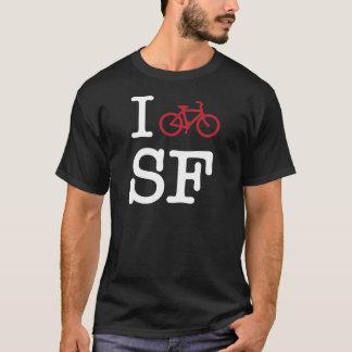Camiseta Eu bike SF (biking do costume SF)