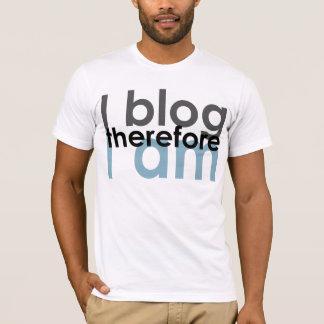 Camiseta Eu blogue lá mim sou