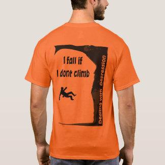 Camiseta Eu caio se eu não escalo