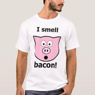 Camiseta Eu cheiro o bacon!