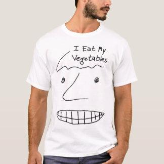 Camiseta Eu como meus vegetais