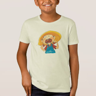 Camiseta Eu como mini tomates