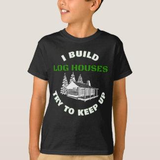 Camiseta Eu construo a tentativa das casas de registro para
