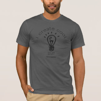Camiseta Eu crio o material legal