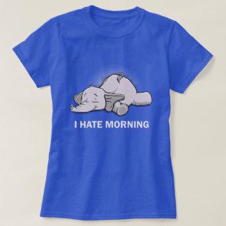 Camiseta Eu deio a manhã