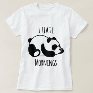 Camiseta Eu deio manhãs
