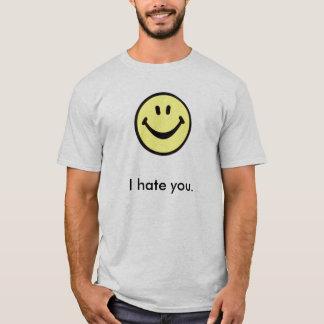 Camiseta Eu deio-o com um sorriso