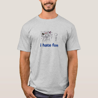 Camiseta Eu deio o divertimento