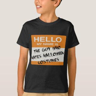 Camiseta Eu deio o Tshirt do traje do Dia das Bruxas