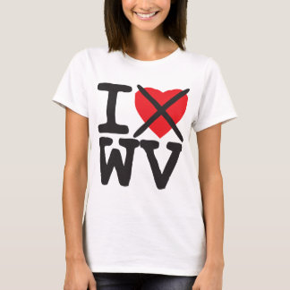 Camiseta Eu deio WV - West Virginia