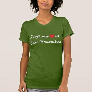 Camiseta Eu deixei meu coração em San Francisco