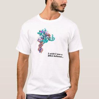 Camiseta Eu desejo que eu era um helicase do ADN…