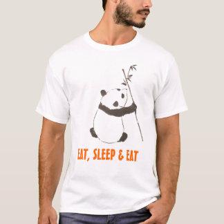 Camiseta Eu desejo que eu sou uma panda