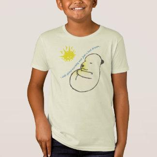 Camiseta Eu desejo que o aquecimento global era apenas um