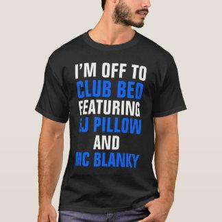 Camiseta Eu devo fora bater o t-shirt escuro da cama (o