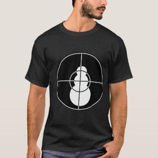 Camiseta Eu disparei nesse t-shirt (preto) do boneco de