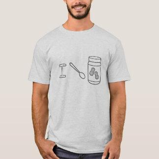 Camiseta Eu dou a manteiga de amendoim