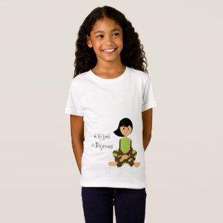 Camiseta Eu educo nos pijamas - T para miúdos