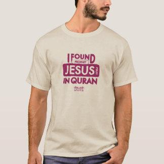 Camiseta Eu encontrei Jesus no Corão
