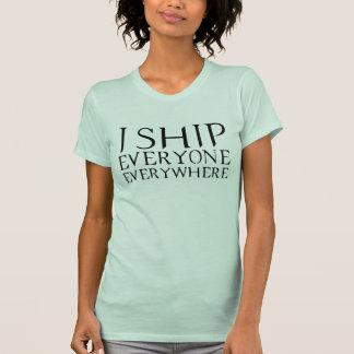 Camiseta Eu envio todos em toda parte