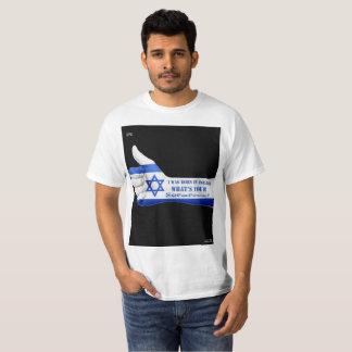 Camiseta Eu era nascido em Israel o que é sua superpotência