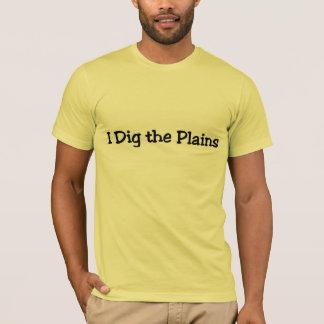 Camiseta Eu escavo as planícies