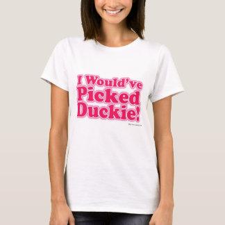 Camiseta Eu escolheria Duckie!