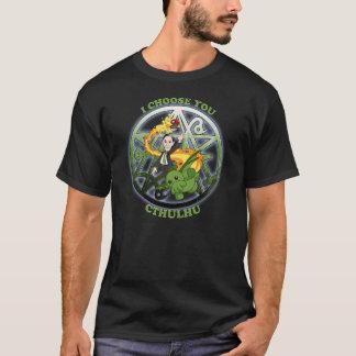 Camiseta Eu escolho Cthulhu: Verde