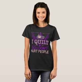 Camiseta Eu estofo assim que não firo do passatempo pessoas