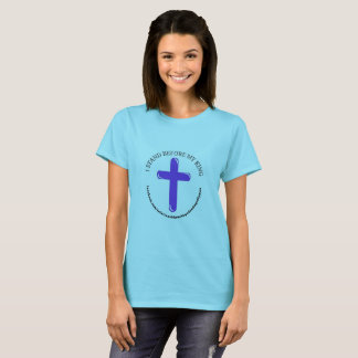 Camiseta EU ESTOU ANTES do t-shirt das MINHAS mulheres do
